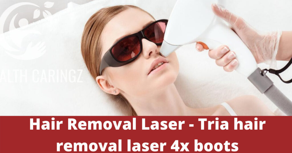 Hair Removal Laser - Tria hair removal laser 4x boots