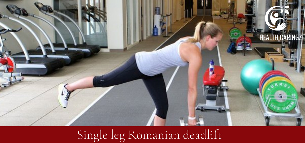 Single leg Romanian deadlift