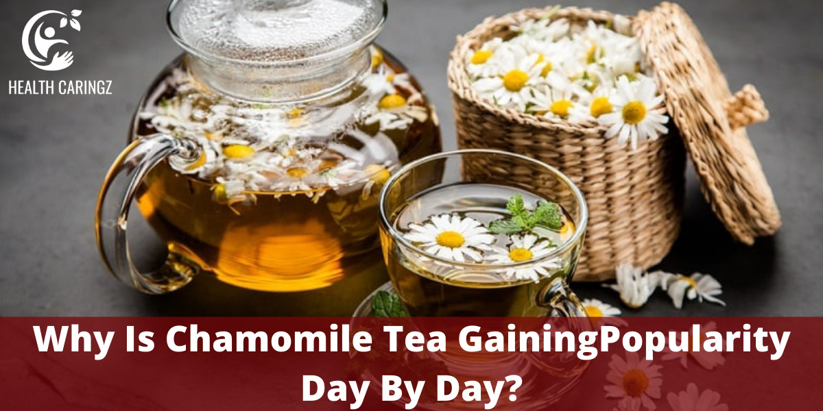 Why Is Chamomile Tea GainingPopularity Day By Day